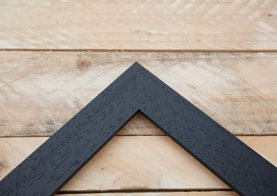 35mm Flat Black Wood Grain