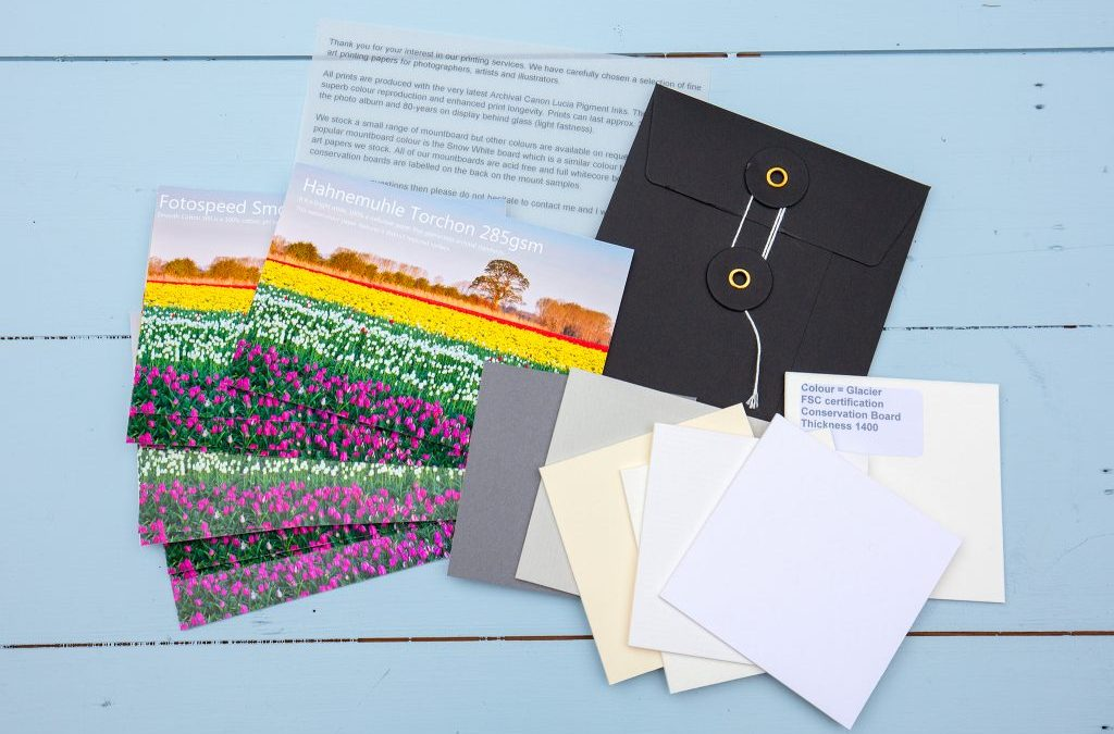 New Paper Sample Packs